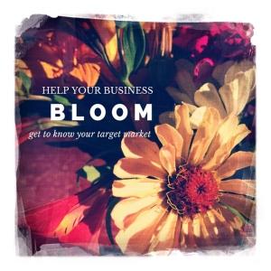 bloom - target market instagram post