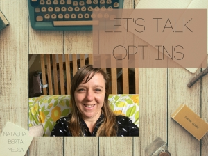 let's talk opt ins