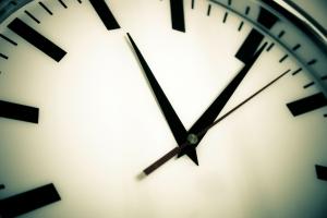 clock - zoomed in